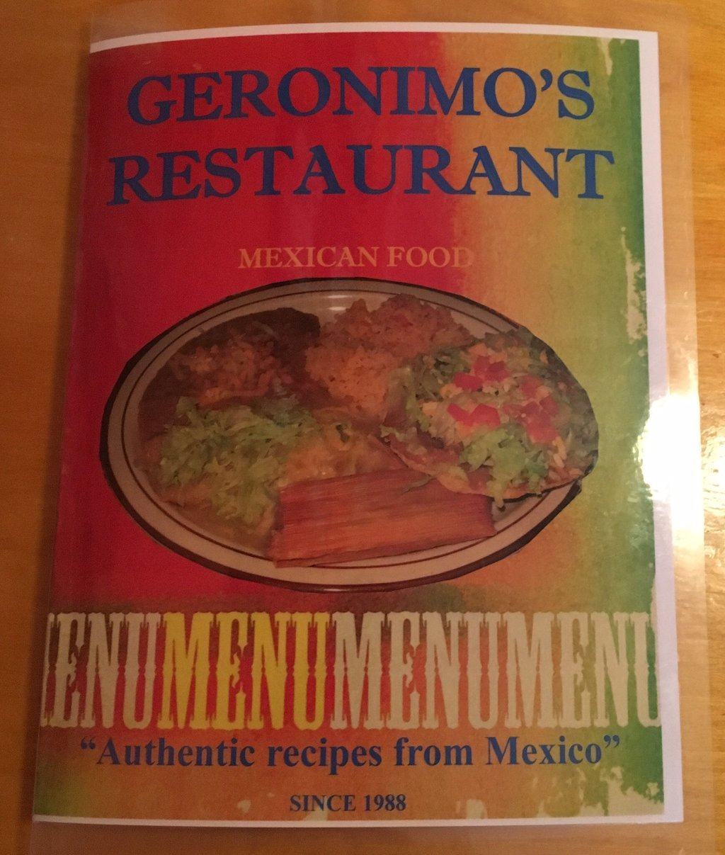 Geronimo`s Restaurant