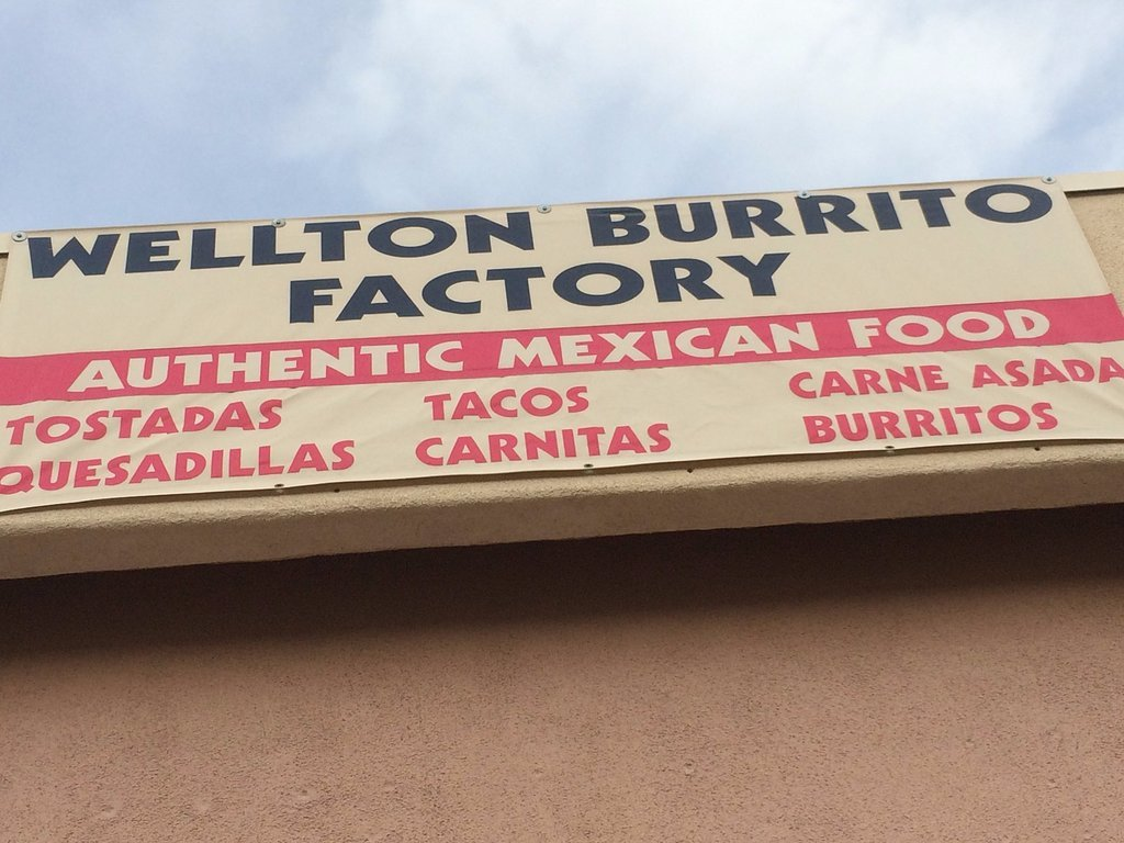 Wellton Burrito Factory